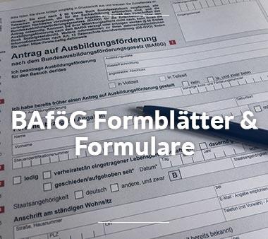 BAföG Amt Bielefeld BAföG Formblättern & Formularen