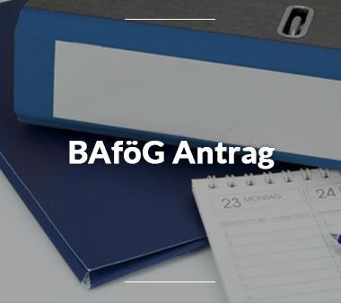 BAföG Formblätter BAföG Antrag