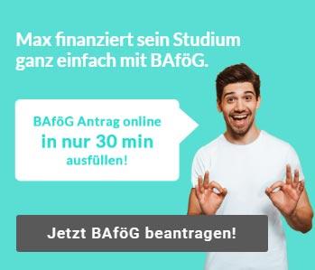 Master BAföG online Rechner