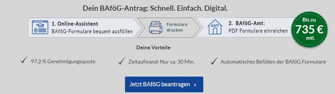 BAföG Amt Tübingen BAföG Antrag stellen